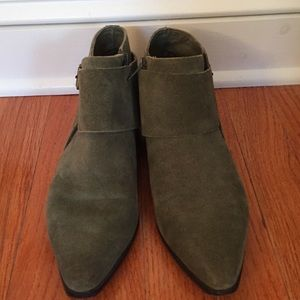7 for all Mankind Suede Moto Boots
